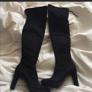 Sam Edelman Black over the knee boots